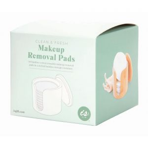 Is Gift Clean & Fresh - Makeup Removing Pads in Bamboo Box Natural 8.5x10x10cm