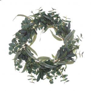 Rogue Mixed Native Wreath Green 56x18x56cm