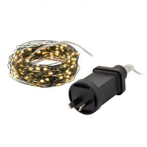 Rogue Super Bright String Light LED 200 Bulbs Green 20m