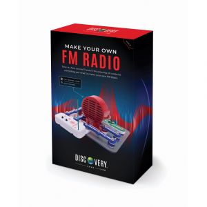 Discovery Zone Make Your Own FM Radio Kit Multi-Coloured 25.5x20.3x6cm
