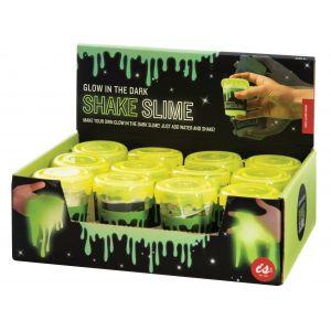 Is Gift Shake Slime - MYO Glow In The Dark Slime (12Disp) Green 7.6x6x6cm