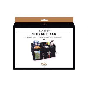 Is Gift Car Boot Storage Bag Black 52x38.5x26cm