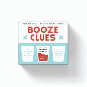 Brass Monkey Booze Clues Drinking Game Set Multi 12x10x6cm