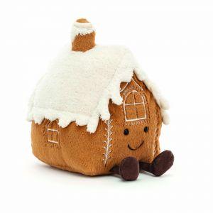 Jellycat Amuseable Gingerbread house Multi 13x16x20cm