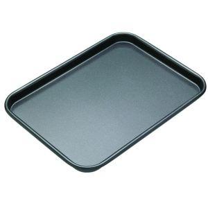 MasterPro N/S Baking Tray Black External 24x18x1.5cm/Internal 23x16x1.5cm
