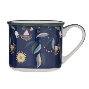 Australiana Gum Blossom Mug Blue/Multi 9x9x9.5cm/475ml