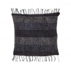 Academy Emerson Cushion Black/Navy 45x10x45cm