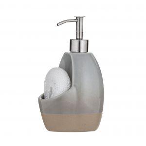 Davis & Waddell Jenson Soap Pump with Sponge White 11x10x19cm