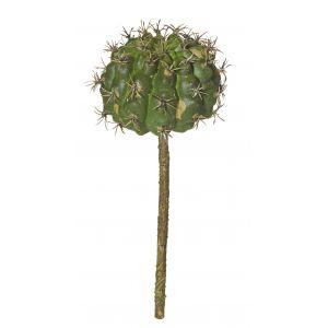 Rogue Spikey Barrel Cactus Green 7x7x18cm