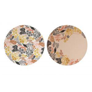 Australiana Maisie Bamboo Fibre Plates Set/4 Maisie 25x25x2cm