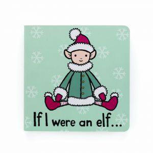 Jellycat If I were an Elf board Book Multi 15x15cm