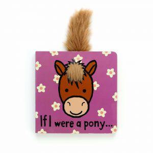 Jellycat If I Were A Pony Book (Matching Toy: Bashful Pony) Multi 2x15x15cm