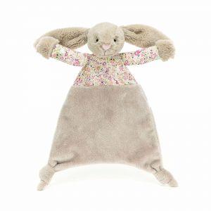 Jellycat Blossom Bea Beige Bunny Comforter Beige 5x22x25cm