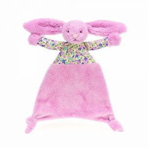 Jellycat Blossom Tulip Bunny Comforter Pink 5x22x25cm