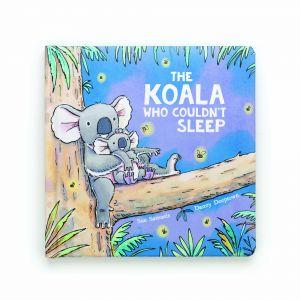 Jellycat The Koala That Couldn't Sleep Book (Matching Toy: Kai Koala) Multi 12 x 12cm