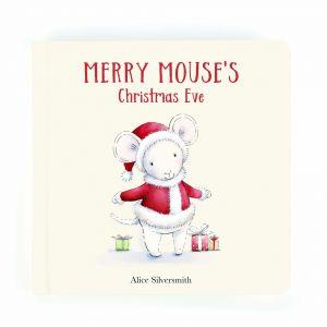 Jellycat Merry Mouse Book Multi 19x19cm