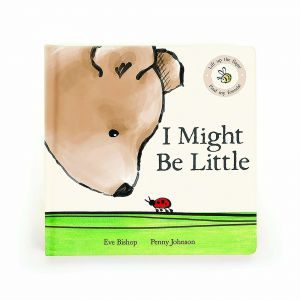Jellycat I Might Be Little Book (Matching Toy: Cocoa Bear) Multi 18 X 18cm