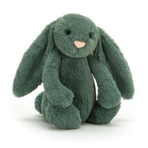 Jellycat Bashful Forest Bunny Medium Green 31x12x15cm