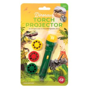 Is Gift Torch Projector - Dinosaurs Green 12.5x3x3cm