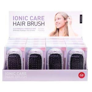 Is Gift Ionic Hair Brush (2Asst/16Disp) Assorted 12.5x8x5.5cm