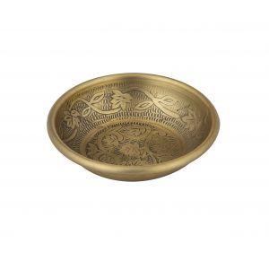 Davis & Waddell Ravi Condiment Bowl Antique Gold 14x14x3cm