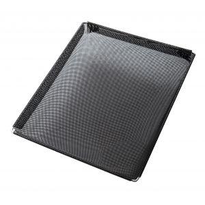 NoStik Reusable Non-Stick Crisper Basket Black 34x29x3cm/3L