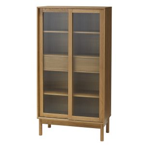 Amalfi Penda Tall Cabinet Natural 80x38x150cm