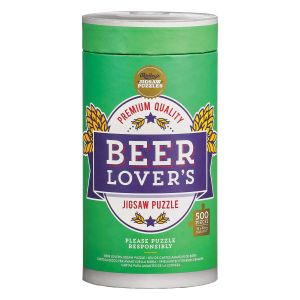 Ridleys Beer Lover's 500 Piece Jigsaw Puzzle Multicoloured