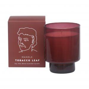 Davis & Waddell Mandle Scented Candle Jar Tobacco Leaf Fragrance 8.5x8.5x11cm