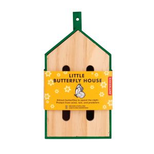 Kikkerland Little Butterfly House Natural