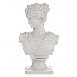 Amalfi Pompei Sculpture White 23x16x40cm