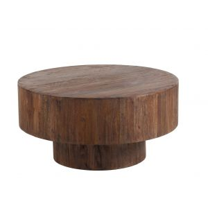 Amalfi Hanima Coffee Table Chestnut 90x90x45cm