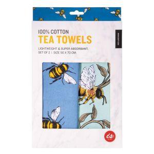 IS GIFT Tea Towel  - Bees  assorted