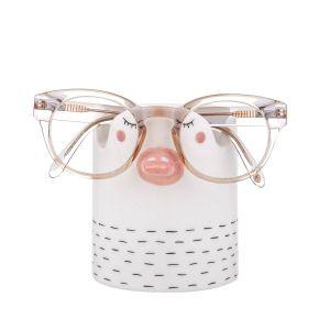 Emporium Daisy Duck Glasses/Pen Holder White/Pink/Grey 10.5x8x11cm