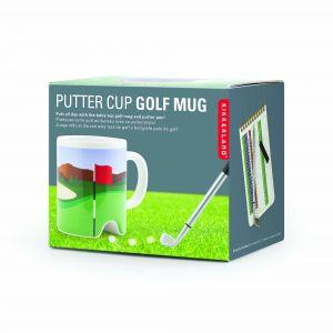 Kikkerland Putter Cup Golf Mug (with Pen) Multi-Coloured 13x9.5x10.5cm