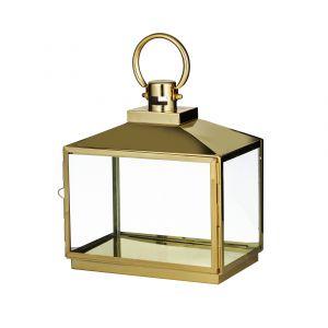 Society Home Hughes Lantern Gold 30x18x34cm