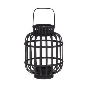 Amalfi Kells Lantern Black 21x21x37cm