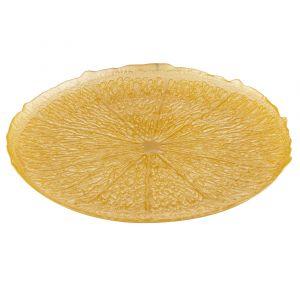 Davis & Waddell Sicily Plate Lemon 34x34x2cm