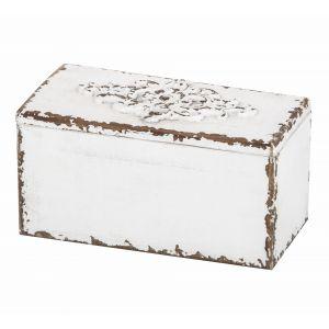 Amalfi Bella Keepsake Box White 24x12x12cm