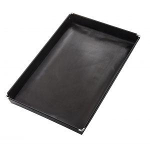 NoStik Reusable Non-Stick BBQ & Oven Basket Black 28x18x3cm/1.5L