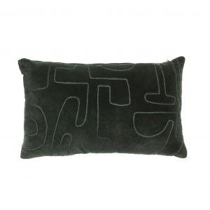 Amalfi Modernist Cushion Green 50x10x30cm