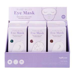 Is Gift Bliss - Eye Mask (3Asst/18Disp) Assorted 19.4x8.9x1.5cm