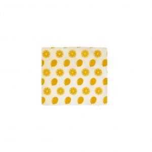 Davis & Waddell Reusable Beeswax Wrap Small 20x18x0.1cm Lemon