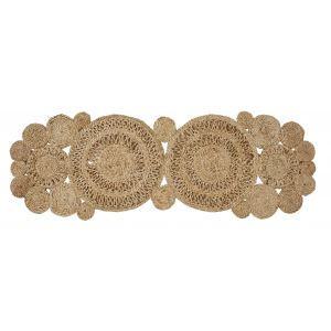 Amalfi Carrie Table Runner Natural 110x35x1cm