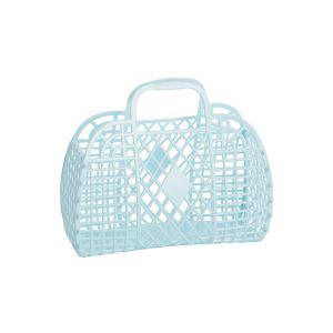 Sunjellies Retro Basket Blue - Small Blue
