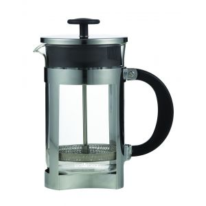 Leaf & Bean Berlin Plunger Clear/Stainless Steel/Black 16x10.5x20.5cm/6 cup/800ml