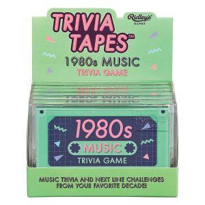 Ridleys 1980s Music Trivia Game Tape Green