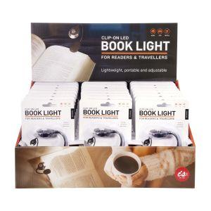 IS GIFT Clip-On LED Book Light  Black