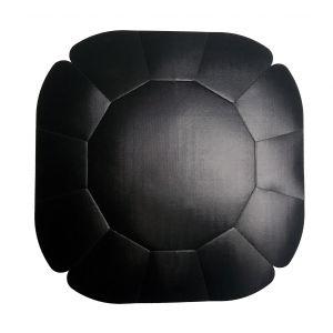 NoStik Reusable Non-Stick Cake Tin Liner Black 25x25x.01cm/Fits 20cm Cake Tin