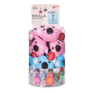 The Australian Collection Eco Bag - Koala  assorted blue, pink & grey